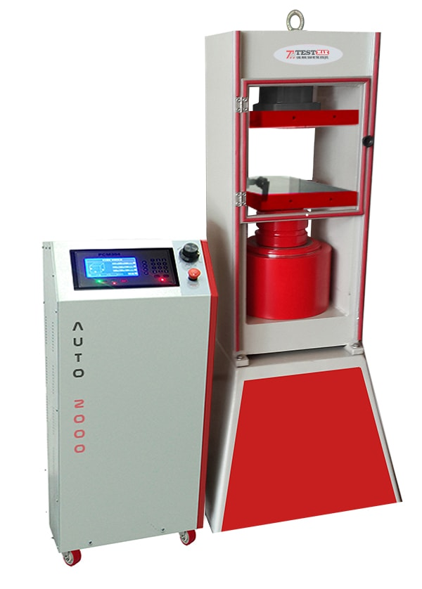 Compression machines 3000 kn for concrete cube, cylinder and blocks samples, astm testers
