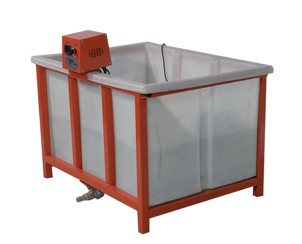Plastic Curing Tank for Making and Curing Concrete Test Specimens