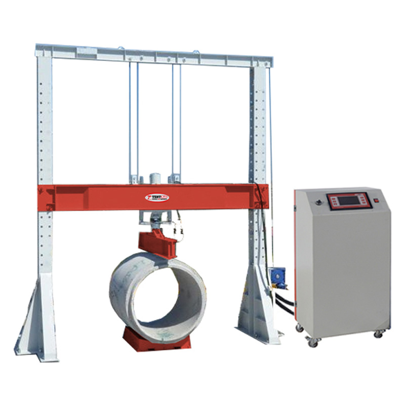 Concrete Pipe Testing Machine 500 kN Capacity