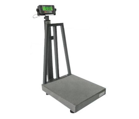 Digital platform scale 150 kg x 10 g