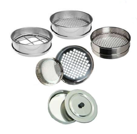 Laboratory-Sieve-Mesh-53-µm-(No:270) for Laboratory Test Sieves ASTM E11, test, sieves