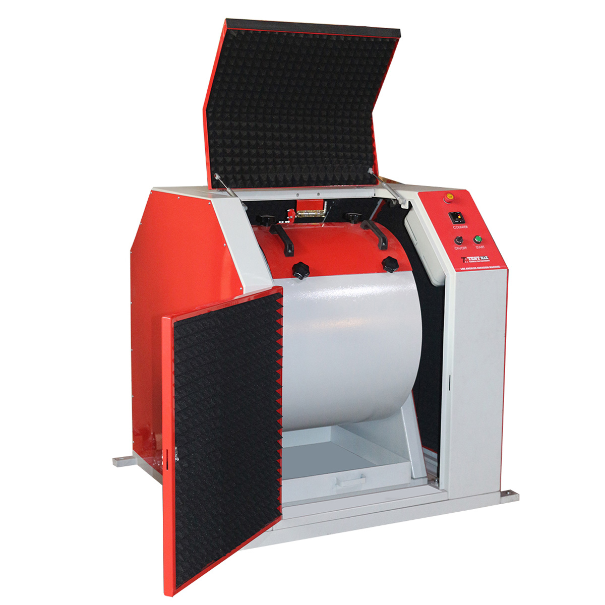 Los Angeles Abrasion Machine with Safety Cabinet