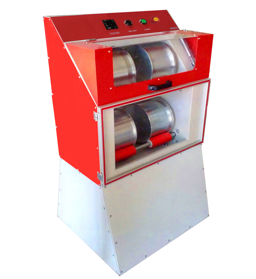 Micro Deval Testing Machine for Determination the Abrasion Resistance and Durability of Mineral Aggregates