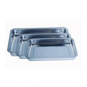 Mixing tray stainless steel 25x36x4 cm for Mixing Trays Stainless Steel
