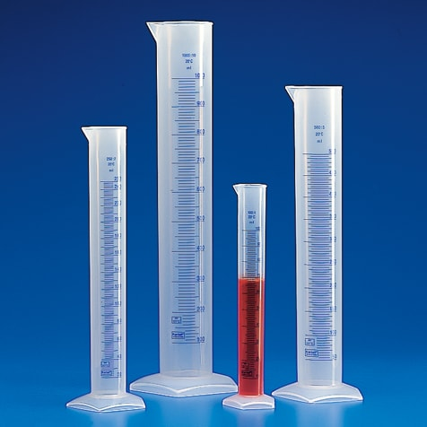 Plastic graduated glass cylinder 250 ml for Graduated Plastic Cylinders, Measuring Cylinders